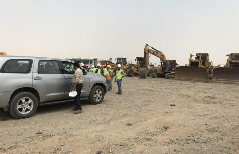Farabi Yanbu Petrochemicals – Ground & Civil Works – RMCO