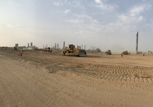 Farabi Yanbu Petrochemicals – Ground &  Civil Works